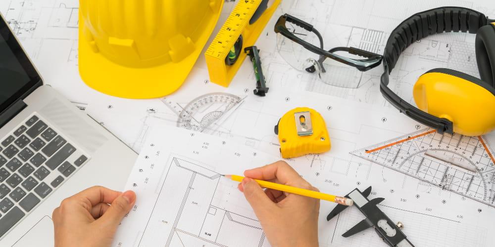 Condições e Meio Ambiente de Trabalho na Indústria da Construção: equipamentos de proteção.