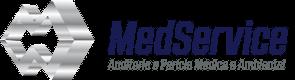 Logo da MedService - Assistência Técnica em Perícias